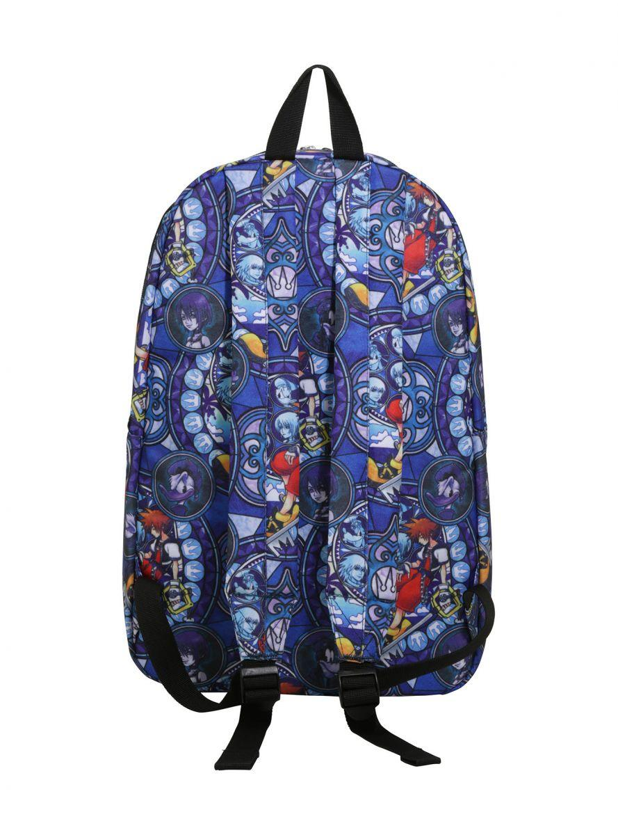 Kingdom Hearts Stained Glass backpack 3