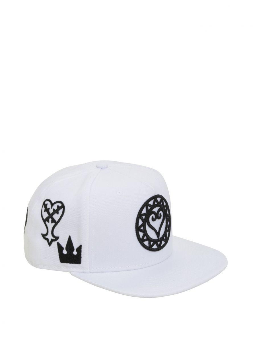 Kingdom Hearts embroidered snapback hat 1