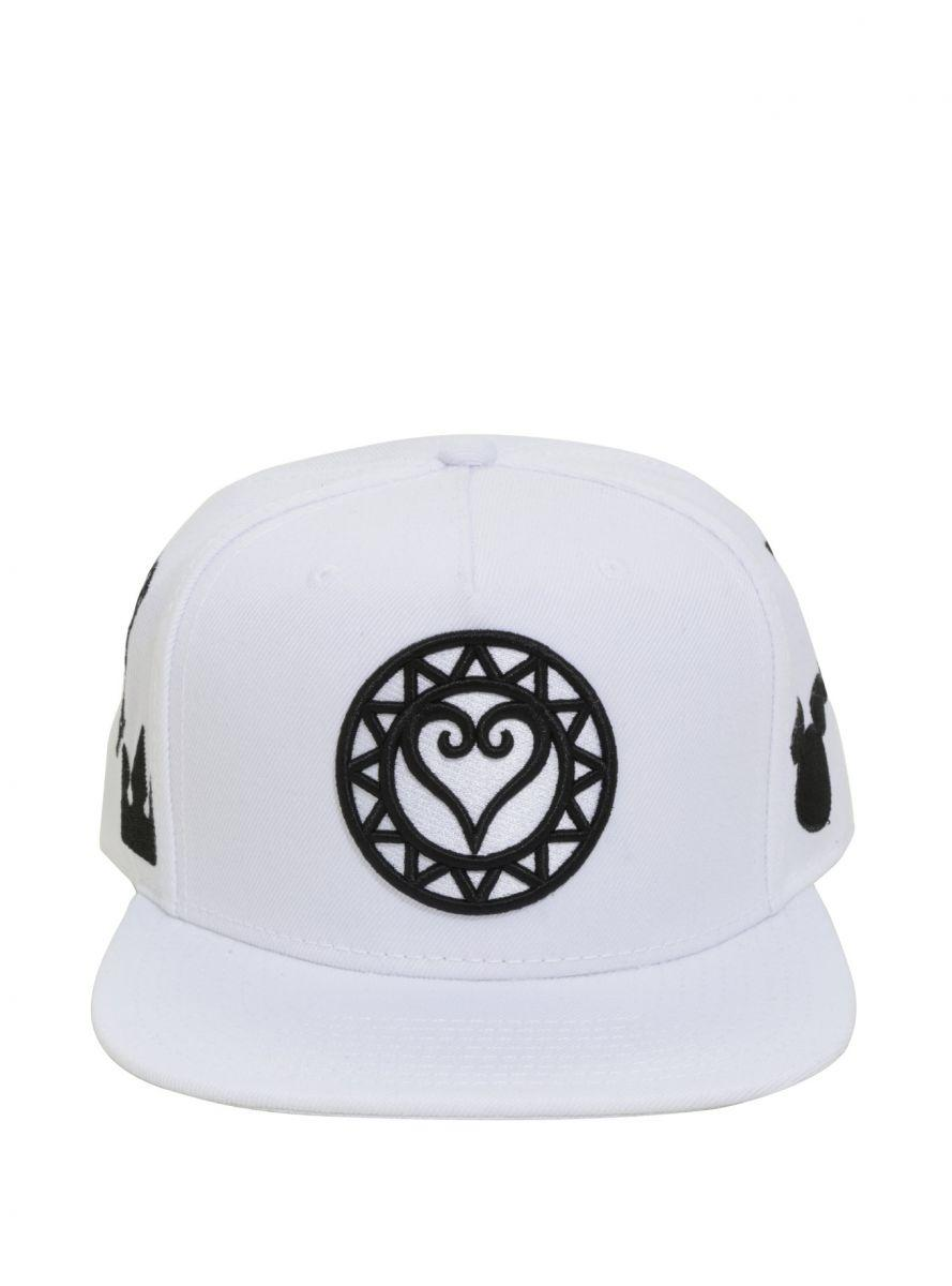 Kingdom Hearts embroidered snapback hat 3