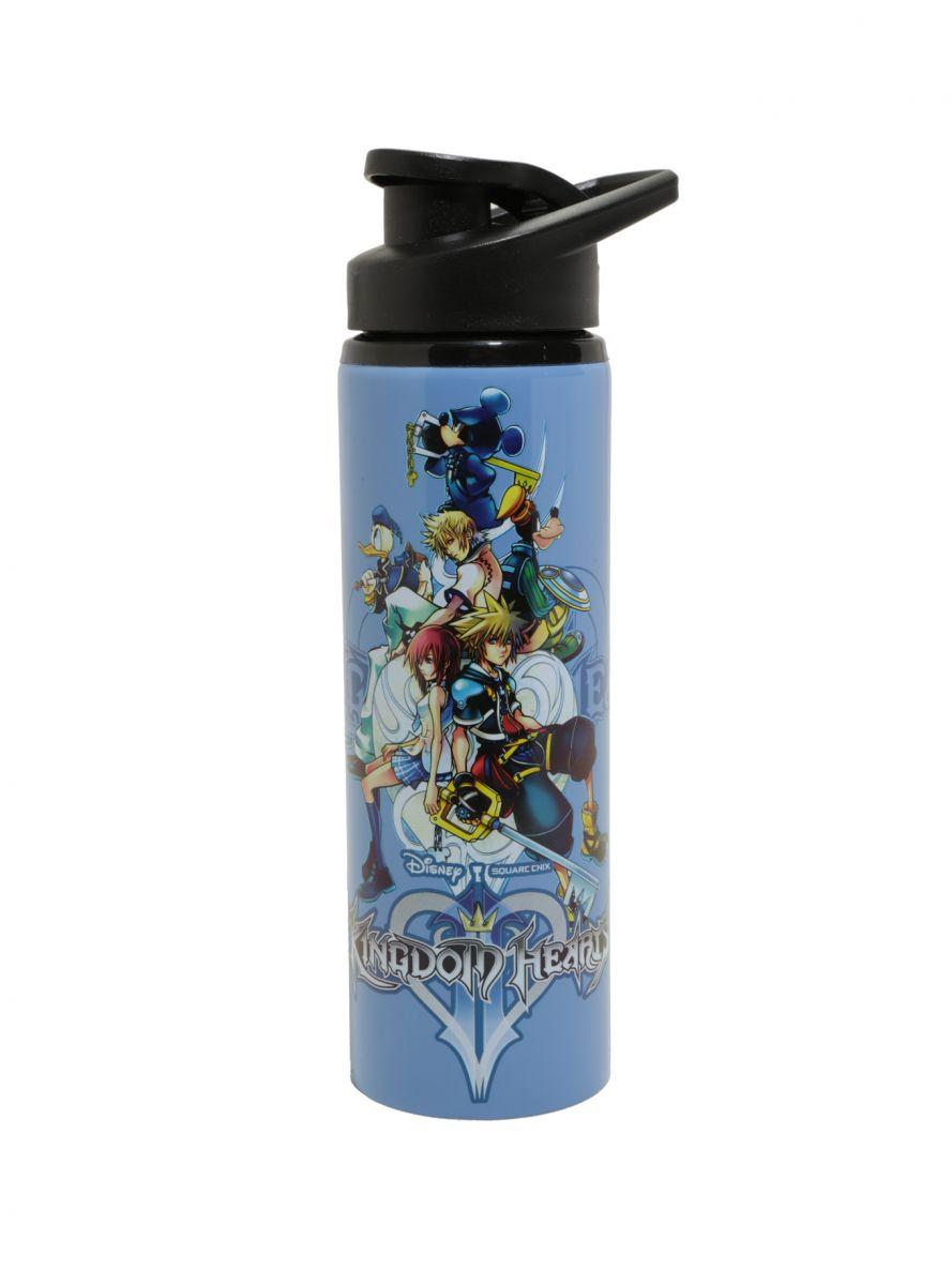 Kingdom Hearts steel water bottle 1