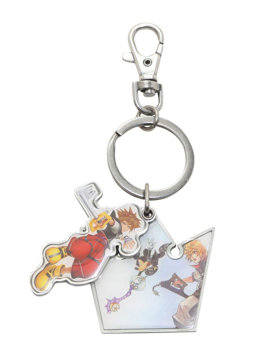 Loungefly Kingdom Hearts Keyblade Sora keychain