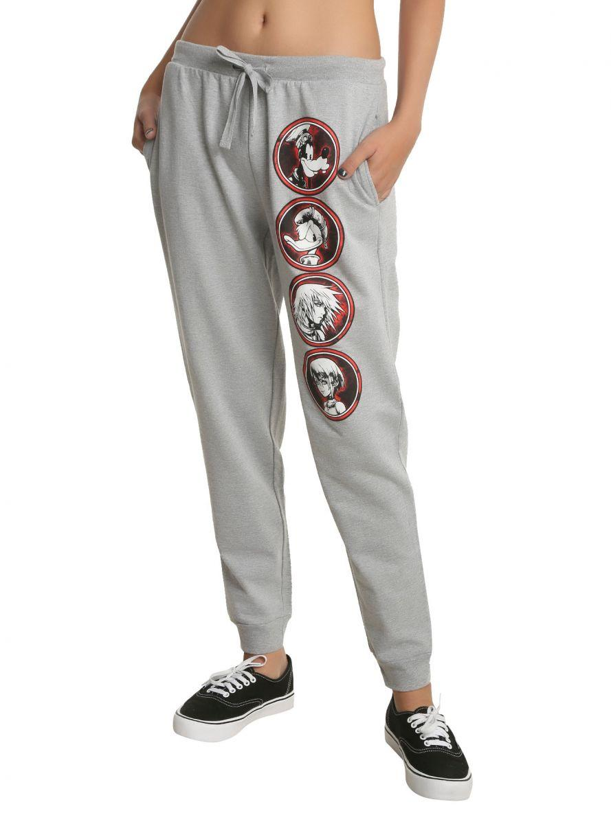 Kingdom Hearts girls' jogger pants 1