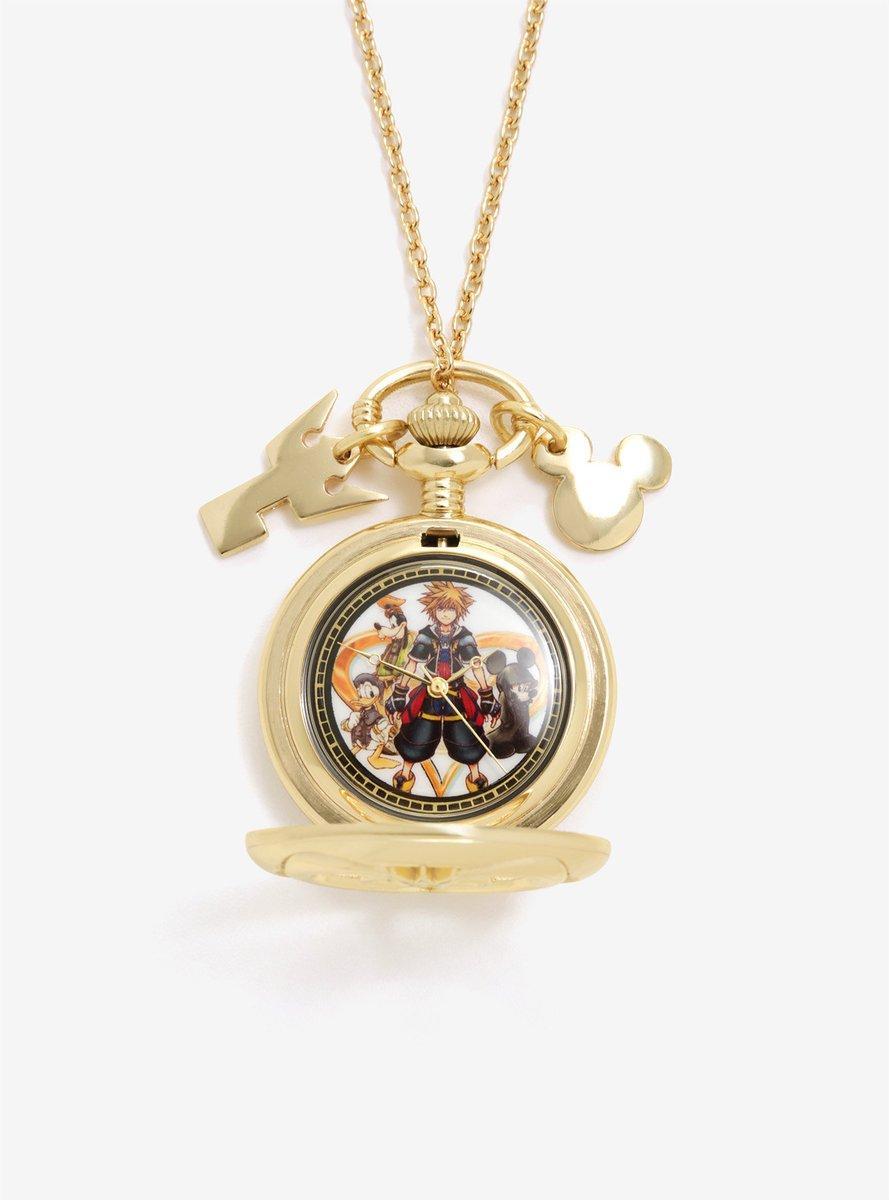 Kingdom Hearts Pocket Watch necklace 3