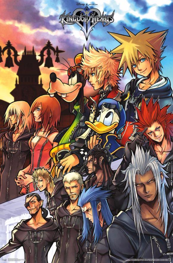 Kingdom Hearts Group Photo poster