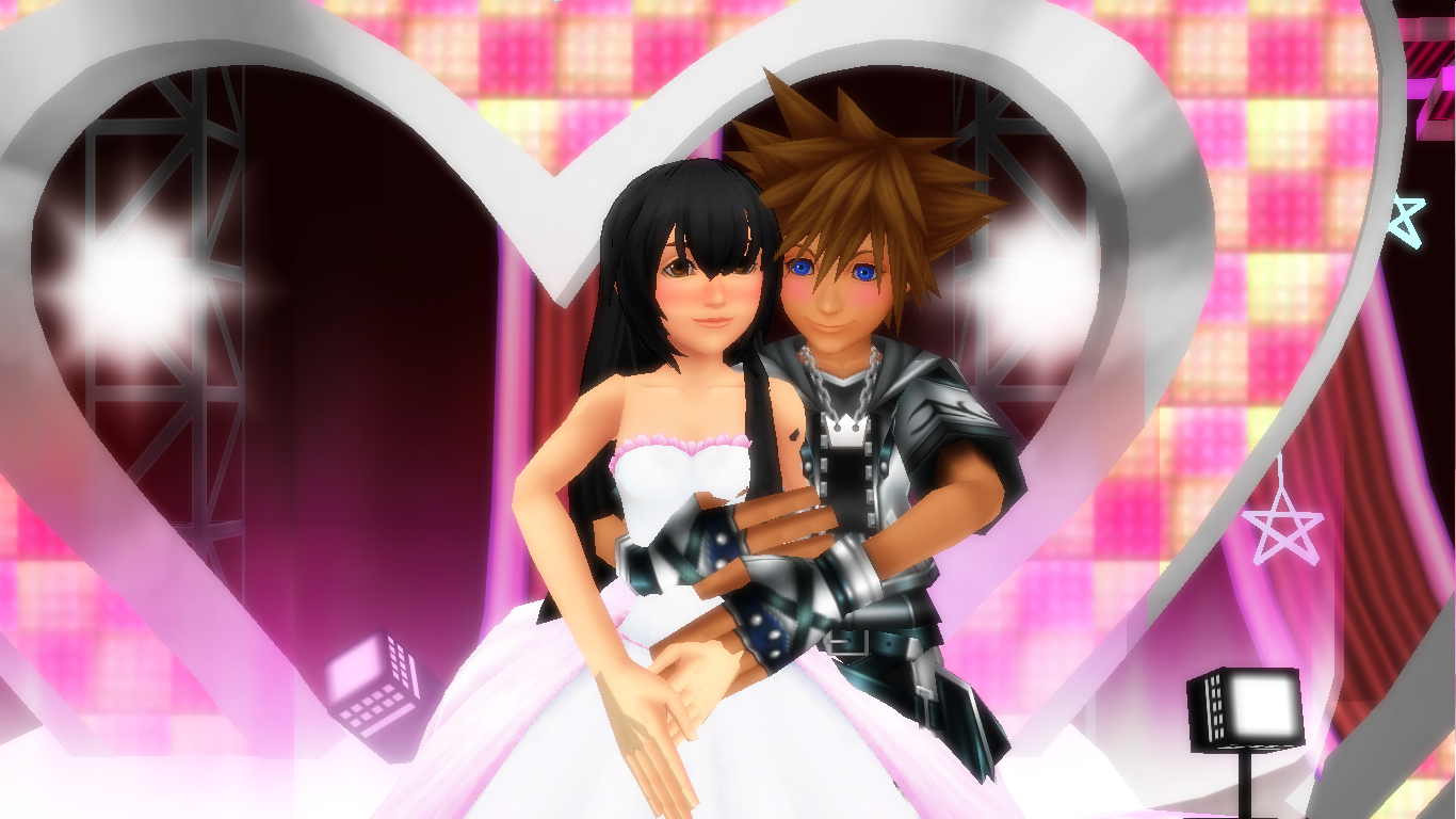 Me In wedding costume with sora