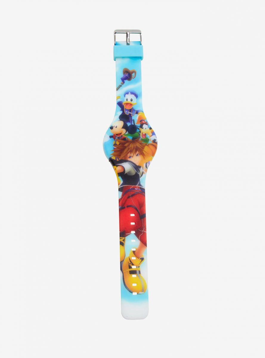 Hot Topic Disney KH RUBBER LED WATCH