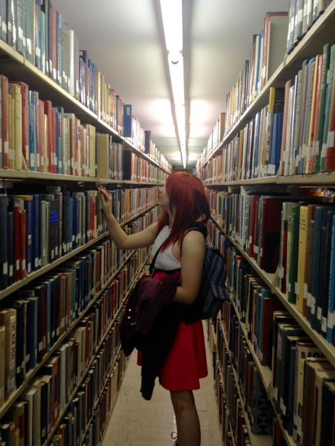 Kairi In the Library