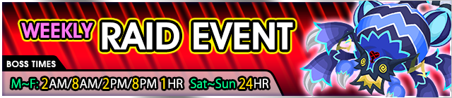weekly raid 108