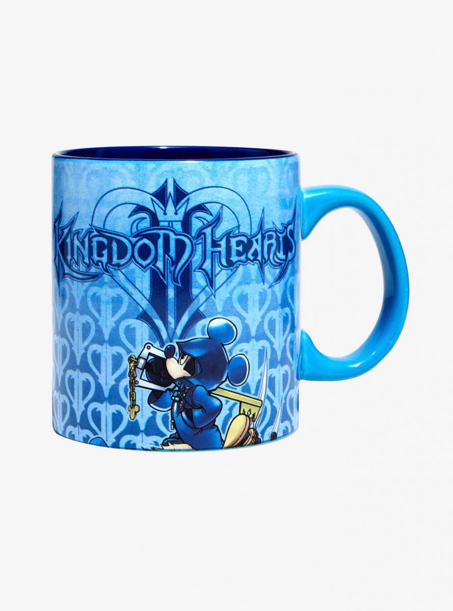 KH2 Blue Mug