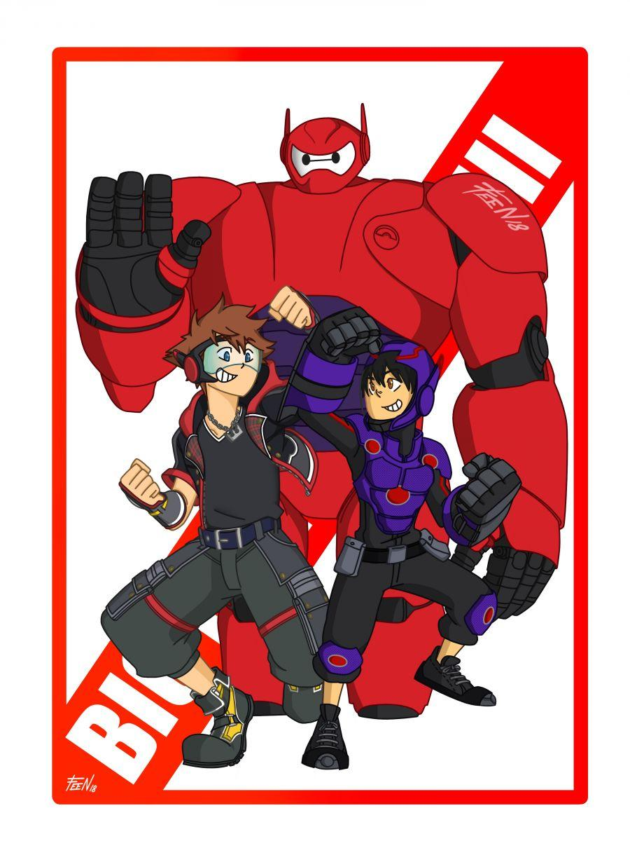 Sora & Hiro & Baymax