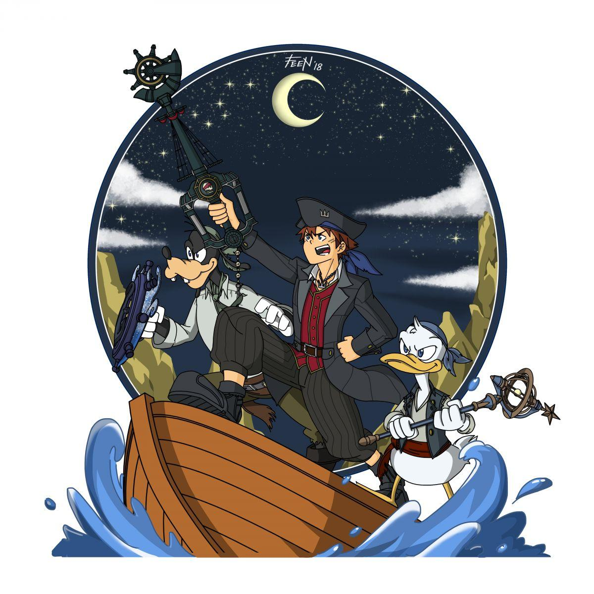 Pirate Trio