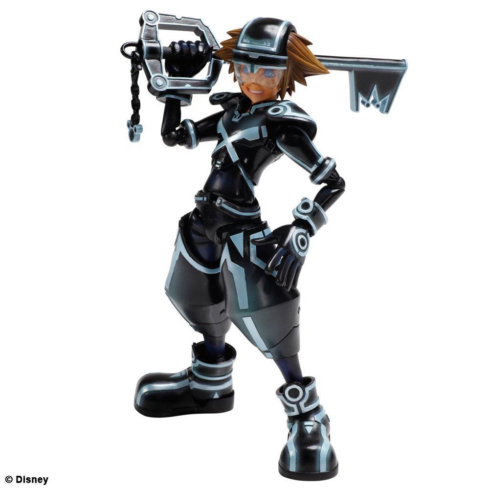 Sora & Riku Play Arts Tron: Legacy version