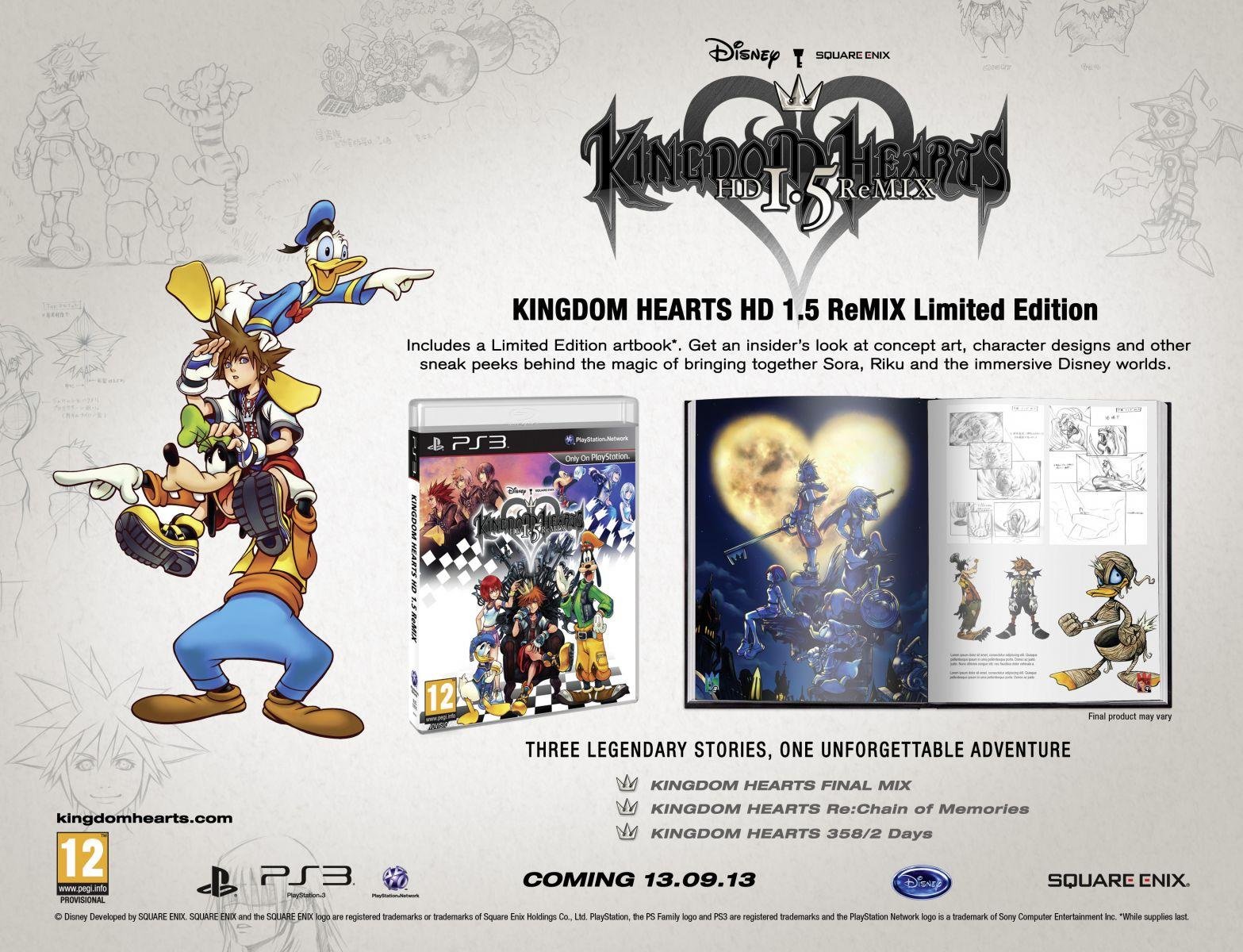 4868Kingdom Hearts HD ReMIX Limited Edition_PEGI