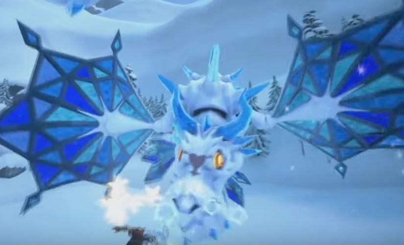 Ice dragon heartless
