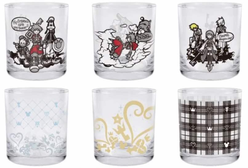 0016106 ichiban kuji kingdom hearts kuji glass Cup individuals Kh Cups