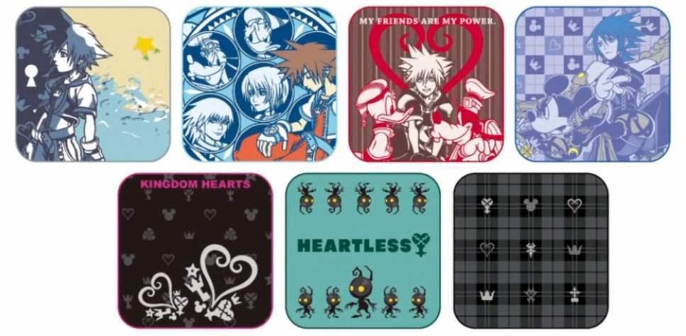 0016105 ichiban kuji kingdom hearts kuji hand towels individuals KH Hand towels