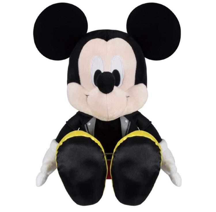 0016110 ichiban kuji kingdom hearts kuji king mickey kingdom hearts 3 outfit plush rare prize King Mickey