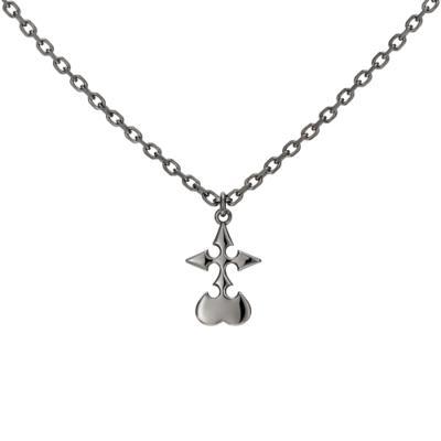 Nobody Necklace Silver