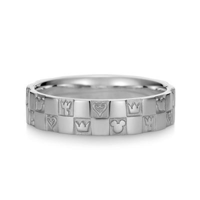 Monogram Ring Double Platinum