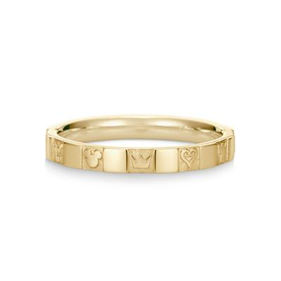 Monogram Ring Single K18 Yellow Gold