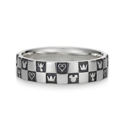 Monogram Ring Double Silver