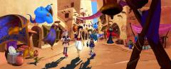 Aladdin (Cancelled Kingdom Hearts game concept art)