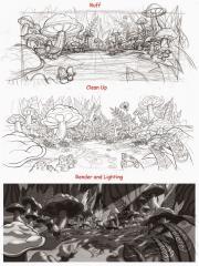 Alice in Wonderland (Cancelled game concept art)