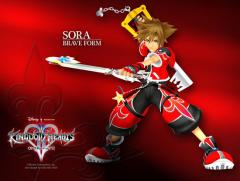 KH2 Sora Valor Form Wallpaper
