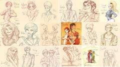 Disney human characters