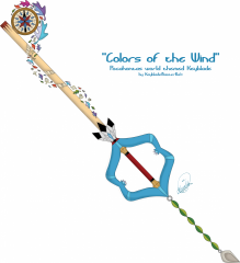 Colors Of The Wind Keyblade - TeeFury contest