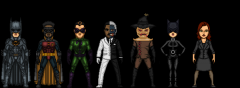 Batman Continues characters (micro heroes)