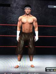 WWE '13 Tony Jaa CAW