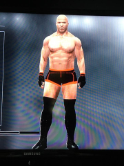 WWE 2K17 PS3 Nathan Jones