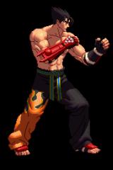 Tekken Jin Kazama sprite
