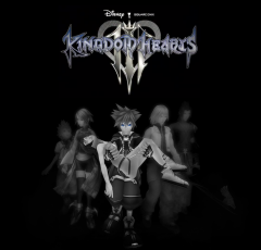 Fanmade Kingdom Hearts III poster