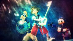 Sora, Donald And Goofy (Saviors Of The Light)