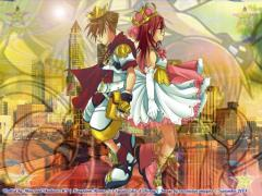 Prince Sora And  Princess Kairi KH