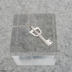 Silver Charm Necklace Keyblade