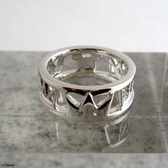 Kingdom Hearts Silver Ring