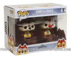kingdom hearts chip dale funko Pop 2pack real
