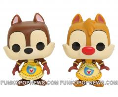 kingdom hearts chip dale funko Pop 2pack real front