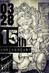 Kingdom Hearts 15th Anniversary Artwork