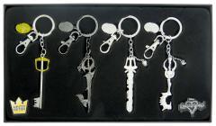 80180 Kingdom Hearts pewter KR 4pc Set  12760.1504901955