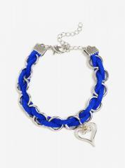 Disney Kingdom Hearts Woven Ring Bracelet & Keyblade Necklace