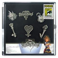 80175 Kingdom Hearts Pewter Pin 6pc Set 2  27536.1504900431