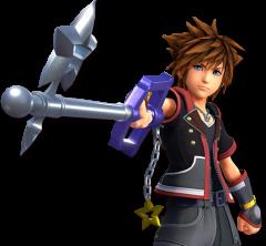 Kingdom Hearts III Sora with Starlight Keyblade
