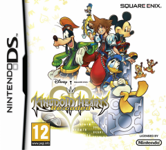 European Cover Art Kingdom Hearts Re:coded