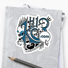 Organization KH13 sticker