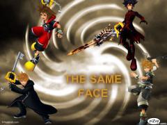 same face