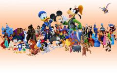 Kingdom Hearts Disney Characters